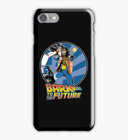 Bark to the Future iPhone Case/Skin