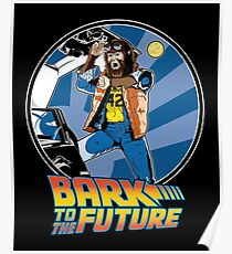 Bark to the Future Poster