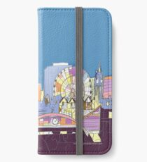 Manchester City Skyline by Arty Margit iPhone Wallet/Case/Skin