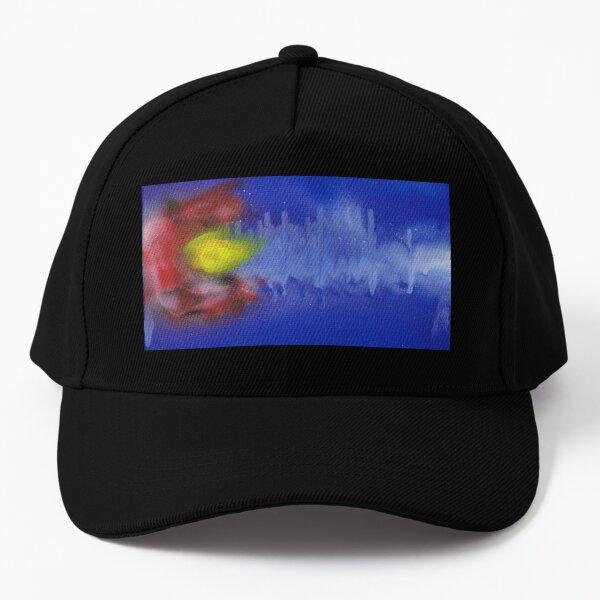 Sound Wave Flag Baseball Cap
