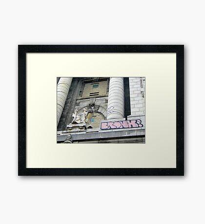 Bronx Justice Framed Print