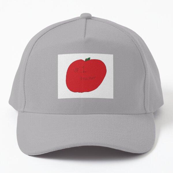 #1 Teacher Apple Baseball Cap