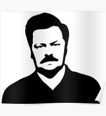 Ron Swanson - Parks and Recreation Poster