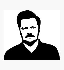 Ron Swanson - Parks and Recreation Photographic Print