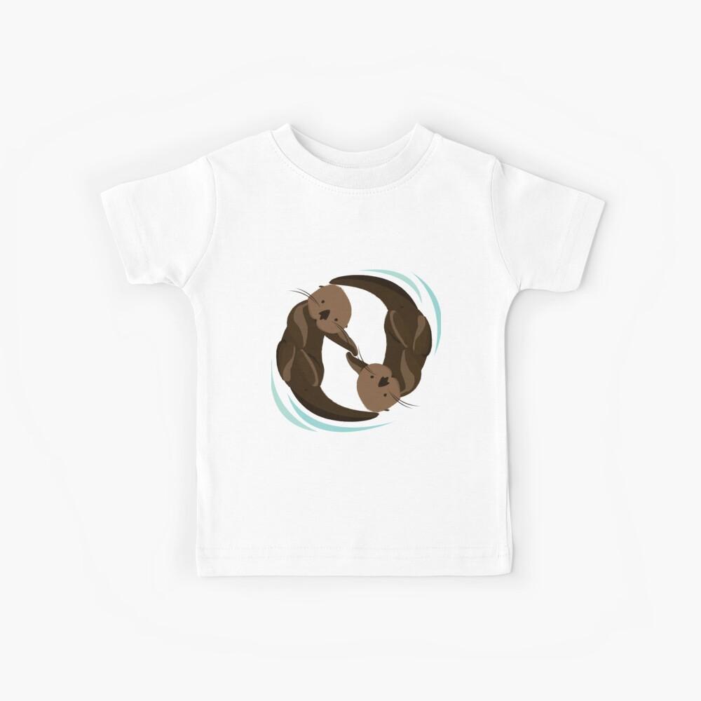Otterfreunde Kinder T-Shirt