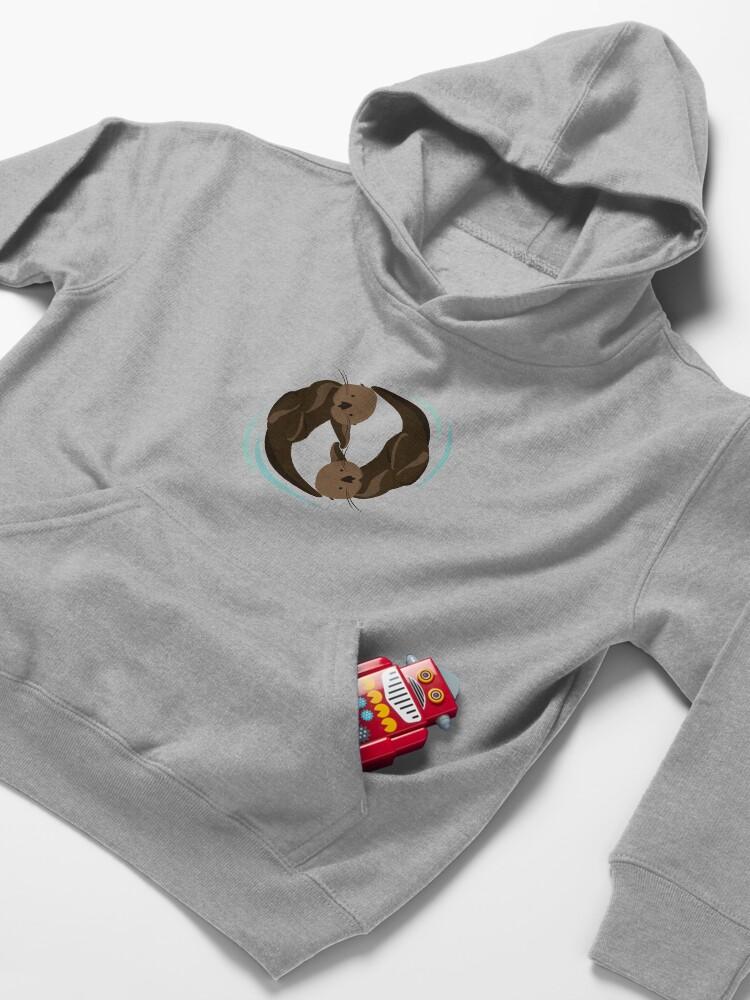 Alternative Ansicht von Otterfreunde Kinder Hoodie