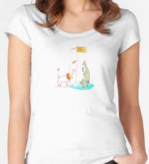 Going to the Zoo Women's Fitted Scoop T-Shirt