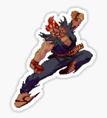 Akuma Demon Flip Sticker Sticker