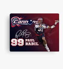 Paul Rabil Lacrosse Boston Cannons Poster Canvas Print