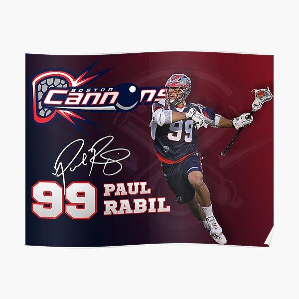 Paul Rabil Lacrosse Boston Cannons Poster Poster