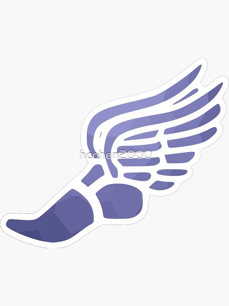 Purple Ombre Track Shoe by hcohen2000