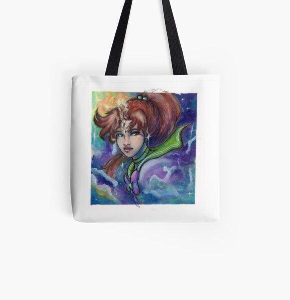 SS Watercolor Series - Jupiter All Over Print Tote Bag