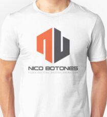 Nico Botones - Watermark Logo Unisex T-Shirt