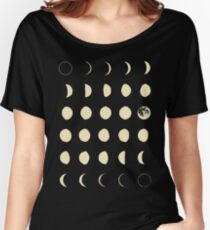 Moon Phases Women's Relaxed Fit T-Shirt