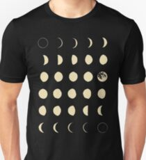 Moon Phases Unisex T-Shirt
