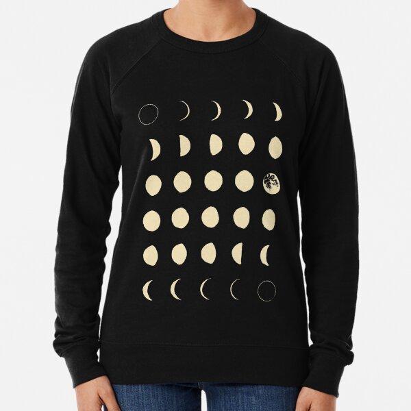 Moon Phases Lightweight Sweatshirt