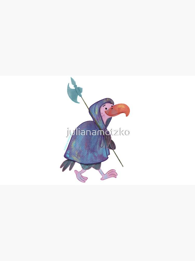 Cute Guardian Vulture by julianamotzko