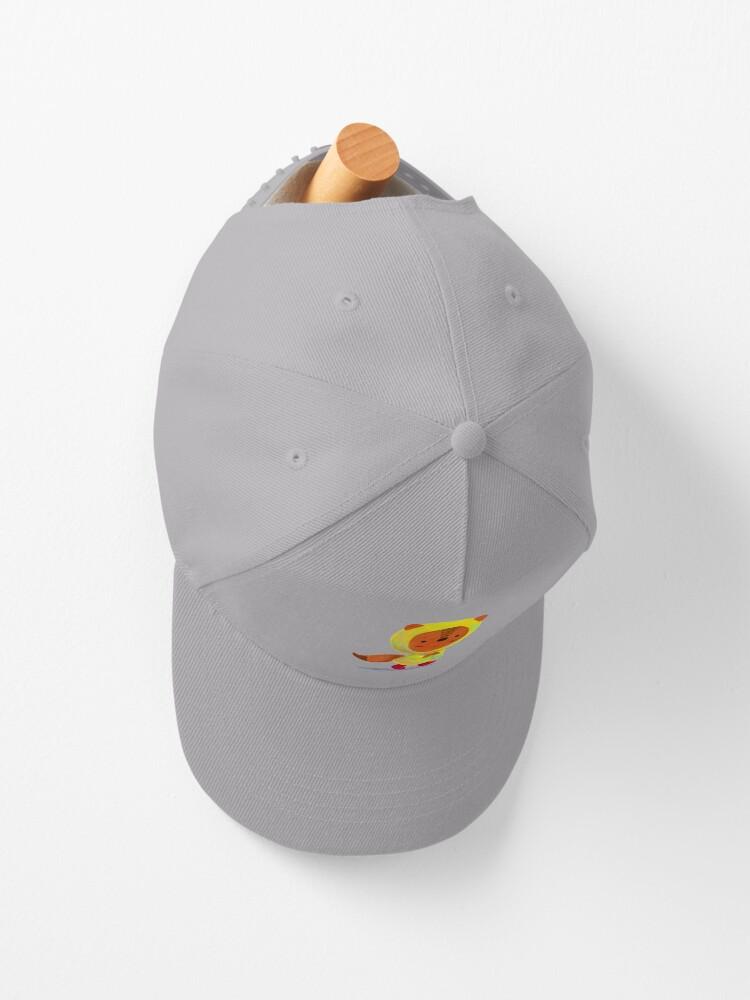 Alternate view of Squirrel with Raincoat Cap