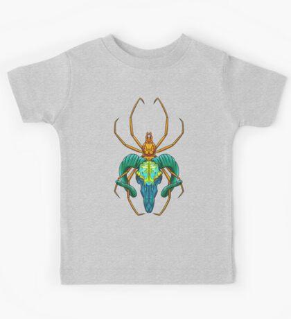 Bright Spider Skull Kids Clothes