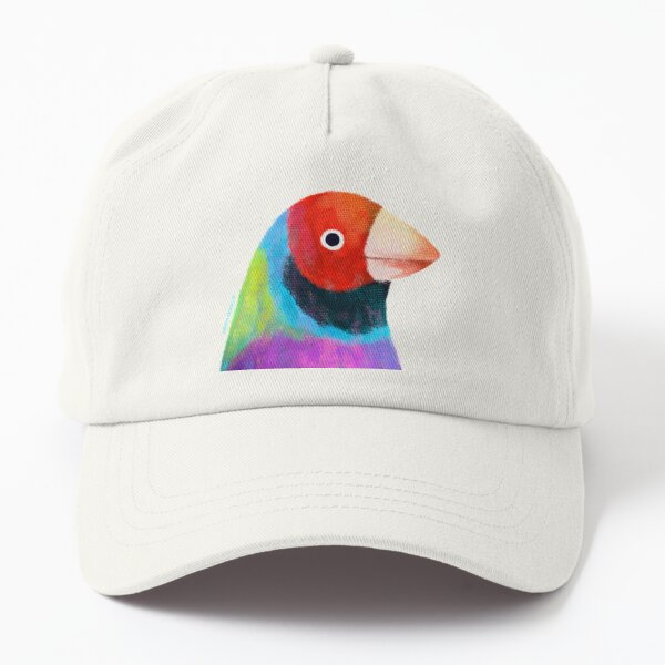 Gouldian Finch Bird Dad Hat