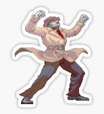SF3 - Q Taunt Sticker Sticker