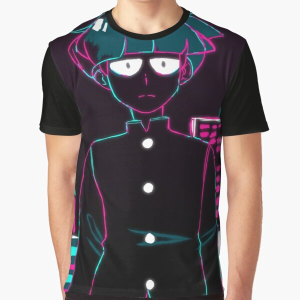 Mob Psycho 100 // Opening City Mob Graphic T-Shirt