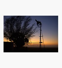 Old windmill Photographic Print