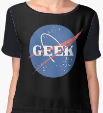 Space Geek Chiffon Top