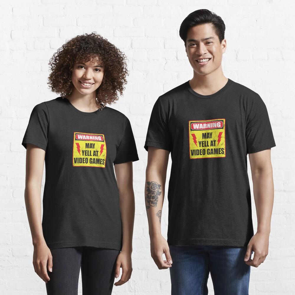 Gamer Warning Essential T-Shirt