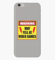 Gamer Warning iPhone Case