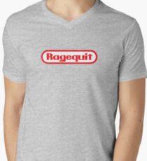 Ragequit Men's V-Neck T-Shirt