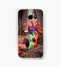 Skull Kid on the Ocarina Samsung Galaxy Case/Skin