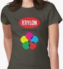 Krylon Spray Paint 8-Bit Womens Fitted T-Shirt