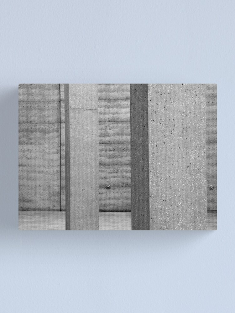 Alternate view of Grey on Grey Canvas Print