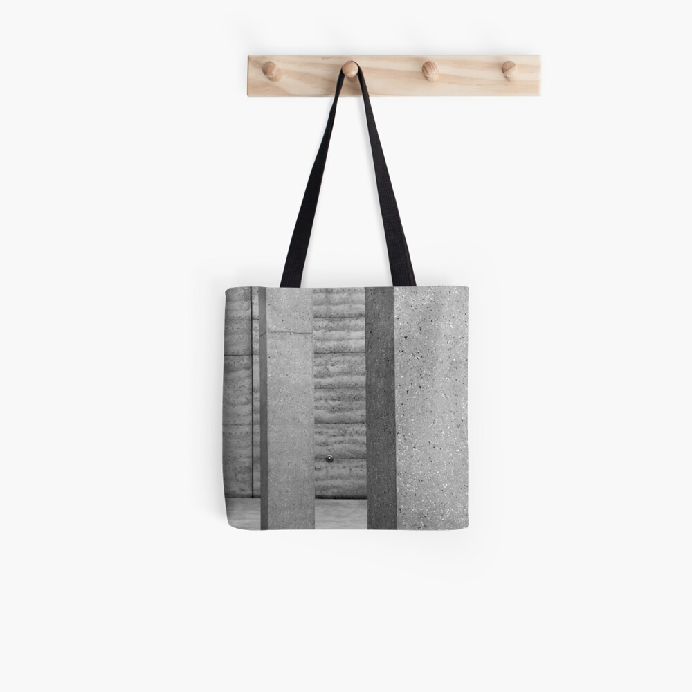 Grey on Grey Tote Bag