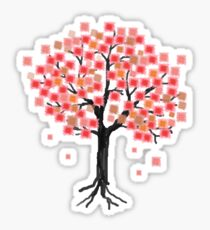 Hanami Season Sakura Blooms Sticker