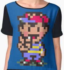 Ness - Earthbound Women's Chiffon Top