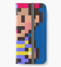 Ness - Earthbound iPhone Wallet/Case/Skin
