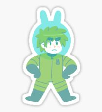 Space Rabbit England Sticker