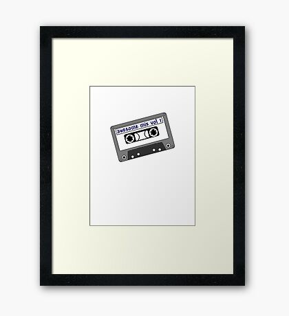 Awesome Mix Framed Print