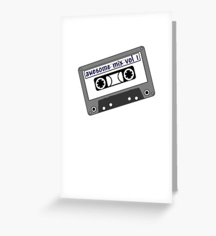 Awesome Mix Greeting Card