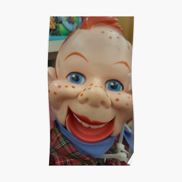 Creepy Puppet Poster