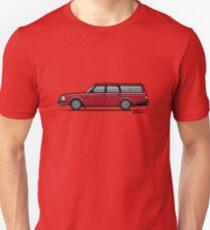 Volvo 245 Brick Wagon 200 Series Red T-Shirt