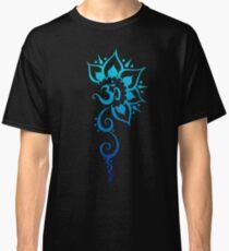 Rising Om - Blue Fade Classic T-Shirt
