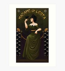 Haunted Mansion Madame Leota Art Print