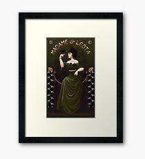 Haunted Mansion Madame Leota Framed Print
