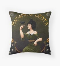 Haunted Mansion Madame Leota Throw Pillow