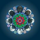 Moondala - Moon Mandala by renc-art