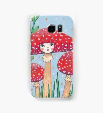 Uncommon Variety - Red Mushroom Samsung Galaxy Case/Skin