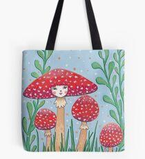 Uncommon Variety - Red Mushroom Tote Bag
